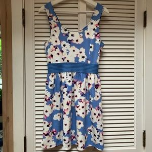 Floral Trixxi Fit and Flare Juniors Dress